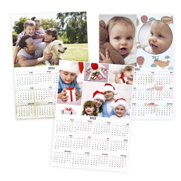 Calendari pòster A3
